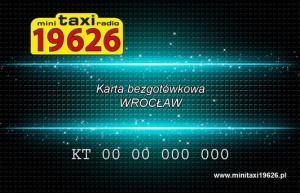 Karta bezgotówkowa - WROCŁAW Mini Taxi