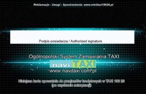 Karta bezgotówkowa - WROCŁAW rev Mini Taxi