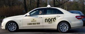 Nord Taxi Koszalin - taksówka klasy Premium 2017 r.