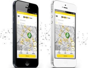 Taxi Polska aplikacja mobilna na smartfony Radmor Taxi Kołobrzeg.