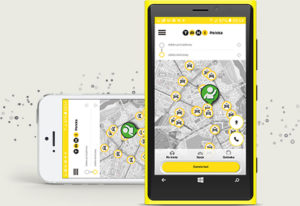 Aplikacja mobilna Taxi Polska na tablety Radmor Taxi Kołobrzeg.