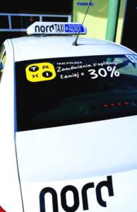 Nord Taxi Kołobrzeg taniej o 30% w aplikacji Taxi Polska.