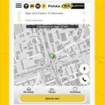 Aplikacja Taxi Polska na tablety Radmor Taxi Kołobrzeg.
