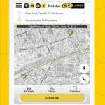 Aplikacja Taxi Polska na tablety Nord Taxi Kołobrzeg.
